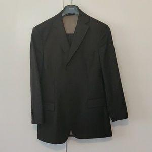 Hugo Boss 36S %100 Wool Scorsese pinstripe suit